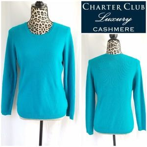 NWT Charter Club Luxury Cashmere Sweater
